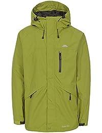 1773b38c5 Trespass Mens Corvo Hooded Full Zip Waterproof Jacket/Coat (L) (Cedar Green