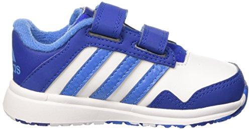 Adidas Snice 4 Cf I, Scarpe Walking Baby Unisex Bimbo Multicolore (Ftwwht/Supblu/Croyal)