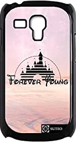Coque pour Samsung Galaxy S3 mini - Forever Young - Disney - ref 1238