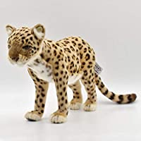 Plush Soft Toy Anatolian Leopard Standing by Hansa. 28cm. 5189
