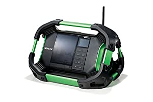 Hitachi UR18DSDL 14.4V / 18V Cordless DAB Jobsite Radio With Bluetooth