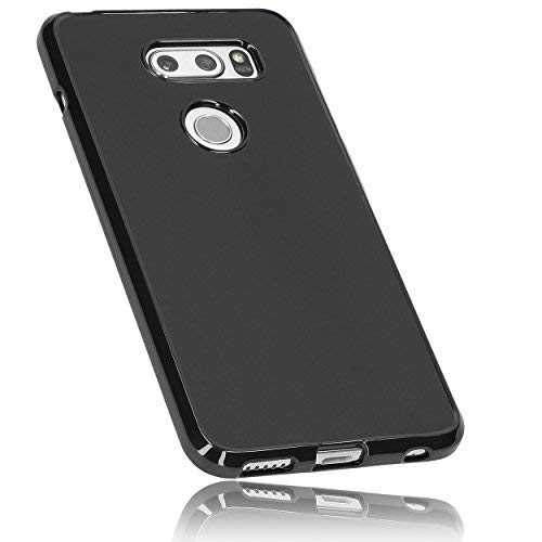 mumbi UltraSlim Hülle für LG V30 / V30S ThinQ Schutzhülle transparent (Ultra Slim - 0.70 mm)