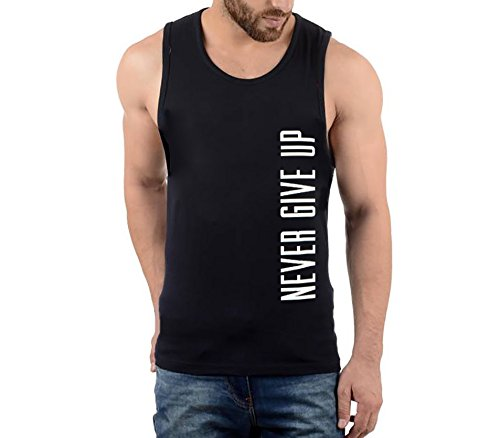 Hotfits-mens-black-sleeveless-tshirt-bknvr