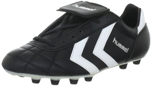 Hummel Old School Fgc Synthetic 61-085-2560, Unisex - Erwachsene Sportschuhe - Fußball, Schwarz (BLACK/WHITE/VANILLA CUSTARD 2560), EU 40.5 (UK 7)