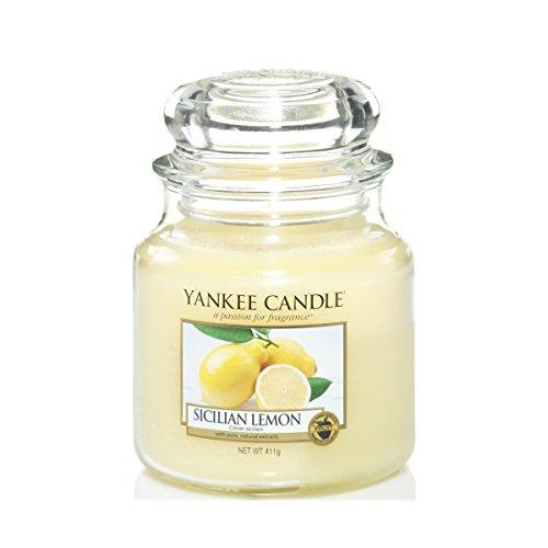 Yankee Candle Yankee candle glaskerze mittel sicilian lemon