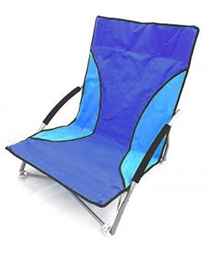 Faltbar Strand Campen Fischen Stuhl Faltbar Garten Außen Sonnenstuhl Niedrig Sitz - Multi
