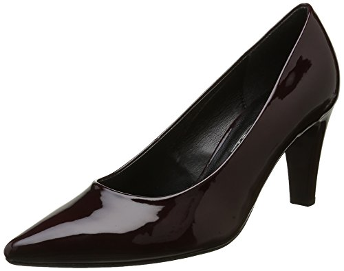 Gabor Fashion, Zapatos De Tacón Rojo Para Mujer (merlot + Absatz 71)