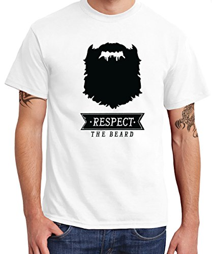-- Respect the Beard -- Boys T-Shirt Rot