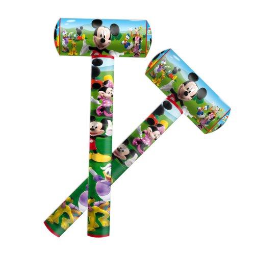 Aufblasbarer Hammer , Spielzeug Micky Maus, 70 cm, - Mickey Maus Und Pluto Kostüm