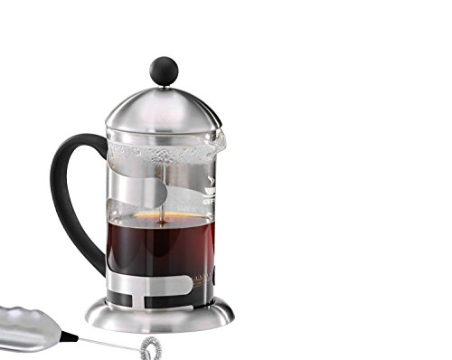 Gefu ge16180Pablo Stainless Steel 6Cup Plunger Coffee Maker 600ml x 12. 3x 21. 7cm