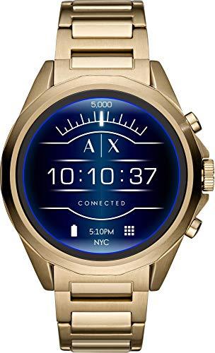 Armani Exchange Orologio Digitale Uomo con Cinturino in Acciaio Inox AXT2001
