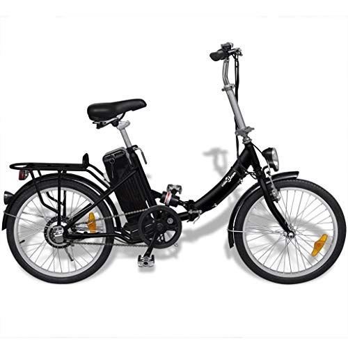 vidaXL Vélo électrique Pliant en Alliage...