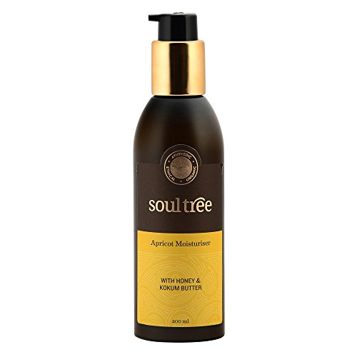SOULTREE Apricot Moisturizer with Honey and Kokum Butter, 200ml