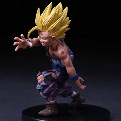 LYLLYL Dragon Ball Sun Wu Model Fan Statue 12 cm Exquisite Statue Anime Decor Decoration Doll Model Toy