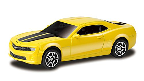 Rmz City RMZ City Junior Chevrolet Camaro Die Cast Scale Model, Yellow/Red