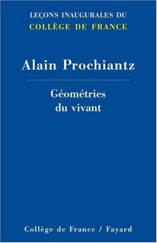 Géométries du vivant