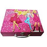 Art Box Girl Print (b) Solid Wooden Multi Purpose Utility Box For Keeping Essentials On Dressing Table Or In Kids Room Or Presenting In Diwali Gifts With Choclates