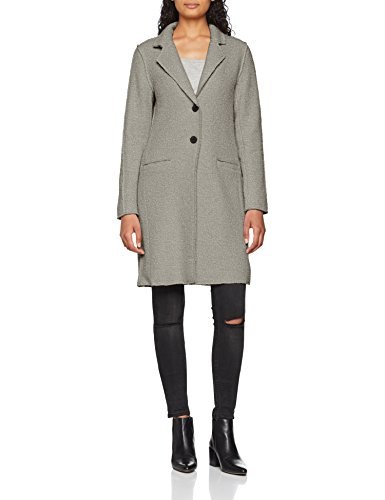 ONLY Damen Mantel onlVIKKI Wool Coat CC OTW, Grau Light Grey Melange, 42 (Herstellergröße: XL) - 3