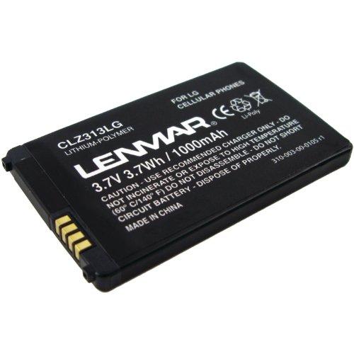 Lenmar Cellular Phone Battery for LG KF900 Prada2 KS500 KS660 Rumor 2 Xenon GR500 and AX265 Banter