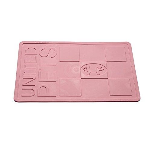 Artikelbild: United Pets GI0602RO Napfunterlage - Mustafà, mittel, rosa