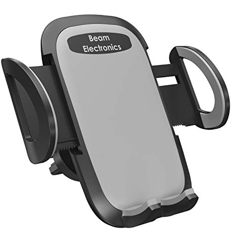 Beam Electronics Universal Smartphone Kfz Auto Air Vent Mount Halterung Wiege kompatibel mit iPhone X 88Plus 77Plus SE 6S 6Plus 65S 54S 4Samsung Galaxy S6S5S4LG Nexus Sony Nokia und mehr. Car Mount-kit
