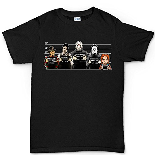 Customised_Perfection The Usual Horror Suspects Halloween T shirt
