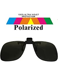 Specs Clip On Black Lens Polarized Sunglasses Smal15211