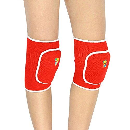 Preisvergleich Produktbild 1 Paar Knieschoner Unisex Kinder Knieschützer Kniebandage Verdickt Schwamm Knieorthese für Freizeit und allerlei Sport,Fußball Laufen Tanzen