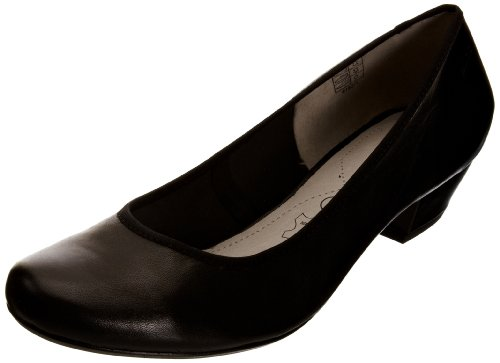 Marc Shoes 1.403.22-20/100-Cara, Scarpe col tacco donna Nero (Schwarz (black 100))
