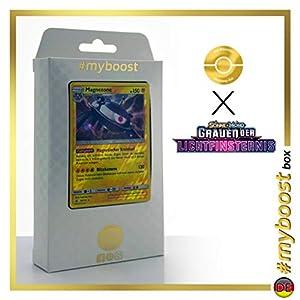 Magnezone 36/131 Holo Reverse - #myboost X Sonne & Mond 6 Grauen Der Lichtfinsternis - Box de 10 Cartas Pokémon Aleman