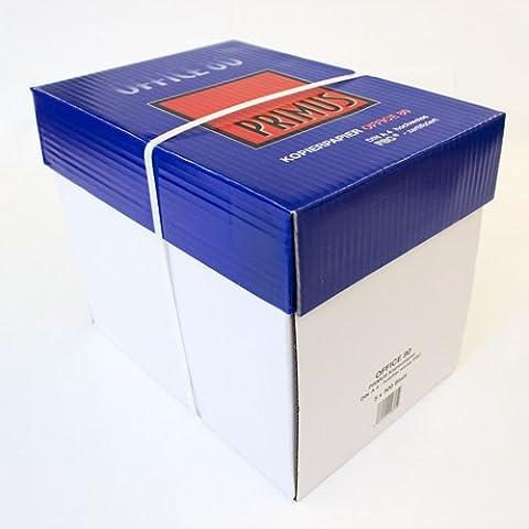 1500 Blatt FSC Markenware Kopierpapier Primus Profiware - Office 80 DIN A4 80g / m² EXTREM WEISS