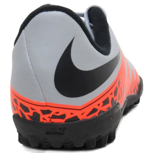 Nike Fußballschuhe JR Hypervenom Phelon II TF wolf grey-total orange-black-black (749922-080)