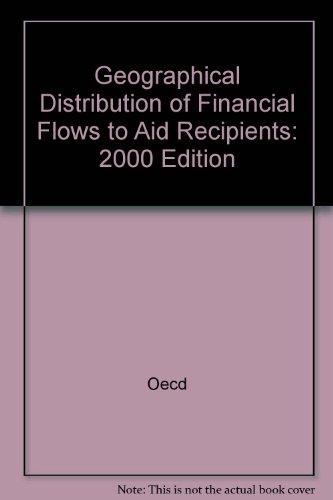 Répartition géographique des ressources financières allouées aux pays bénéficiares de l'aide. Edition 2000 par Oecd