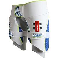 GRAY NICOLLS Omega XRD 360 Protector de Muslo para Cricket, M - Derecho