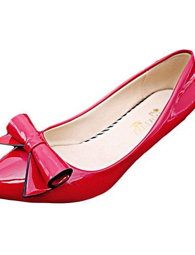 GS~LY Da donna-Tacchi-Casual-A punta-A stiletto-Di pelle-Nero / Rosa / Rosso / Bianco / Grigio black-us8.5 / eu39 / uk6.5 / cn40
