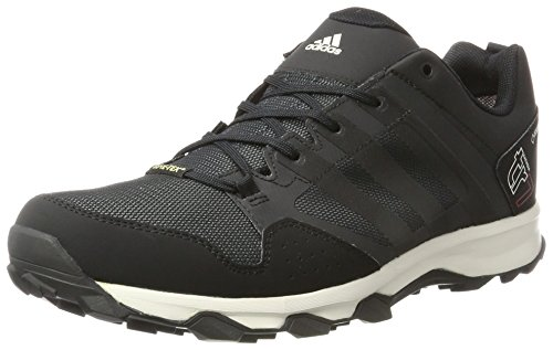 adidas Kanadia 7 Trail GTX, Herren Laufschuhe, Grau (Dark Grey/Core Black/Chalk White), 39 1/3 EU (6 Herren UK)