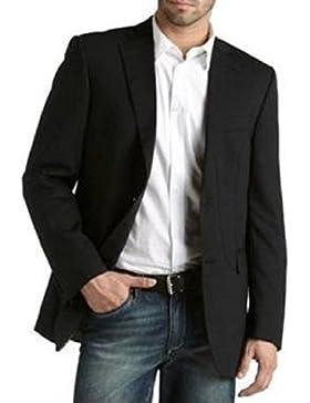 Hochwertiges Sakko aus Schurwolle - Farbe Schwarz Gestreift