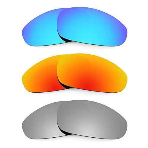 Revant Ersatzlinsen für Oakley Juliet Polarisiert 3 Paar Kombipack K014