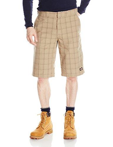 Dickies Herren Kurze Plaid-Shorts, 13 Zoll - Mehrfarbig - 56 -