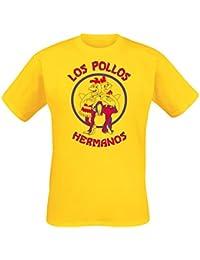 Breaking Bad Los Pollos Hermanos T-Shirt yellow