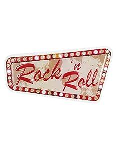 Boland BOL44854 - Decoración para pared, diseño de rock y roll