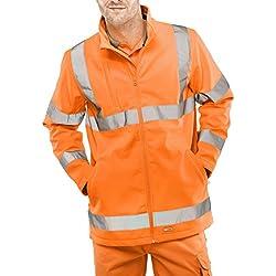 Beeswift ss20471orl–Cazadora Alta Visibilidad, grande, color naranja