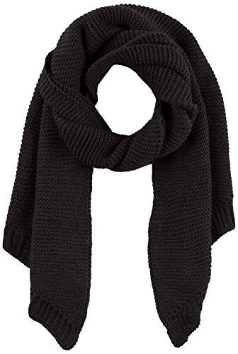 PIECES Damen Schal PCDACE Long Wool Scarf NOOS, Schwarz Black, One Size