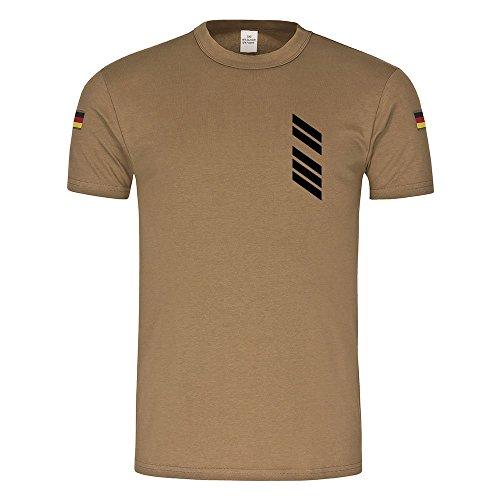 BW Tropen GTK Boxer OSG Bundeswehr Oberstabsgefreiter Radpanzer Transporter Fahrer Tropenshirt Auslandseinsatz Uniform T-Shirt (Deutschland Militär-uniform)