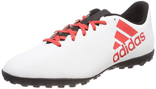 adidas X Tango 17.4 Tf, Scarpe da Calcio Uomo, Oro Tagome/Cblack/Solred, 40 2/3 EU