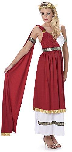 Karnival 81068Römische Kaiserin Kostüm, Frauen, Multi, extra -