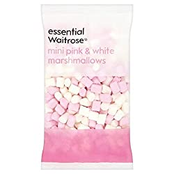 Pink & White Mini Marshmallows 150g Wesentliche Waitrose