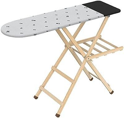 Gimi Legno Tech Tabla de planchar de madera, superficie 117x34 cm