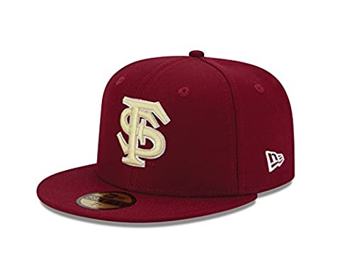 NCAA Florida State Seminoles College Team Classic 59Fifty Fitted Cap, Red, 71.4cm
