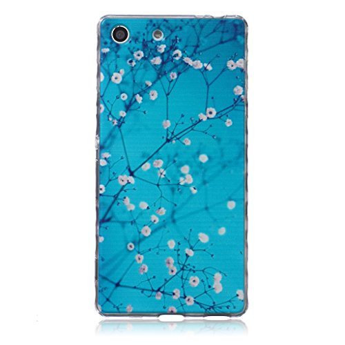 for-sony-xperia-m5-case-with-tempered-glass-screen-protectoridatogtm-soft-silicone-bumper-ultra-thin